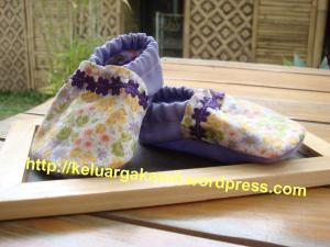 sepatu bayi bahan kain