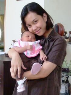 1 month Baby Zahra Kamila