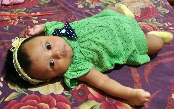 Zahra in ZARA Baby