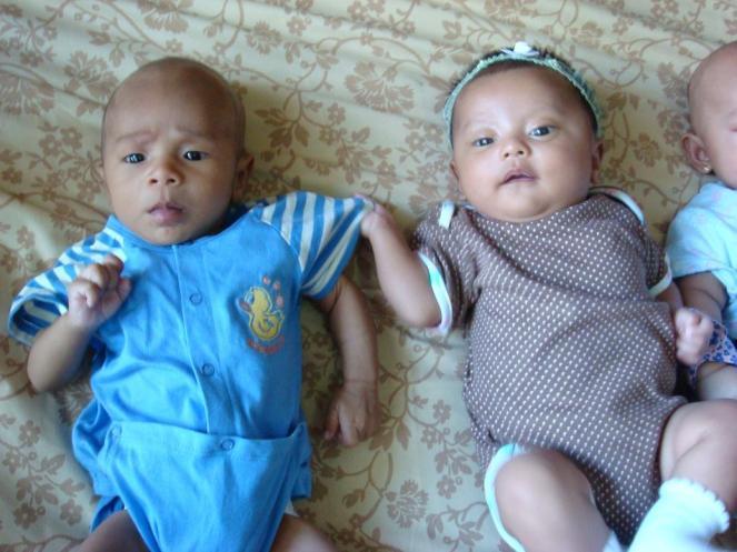 Umur 2 bulan ama Baby Ganesh