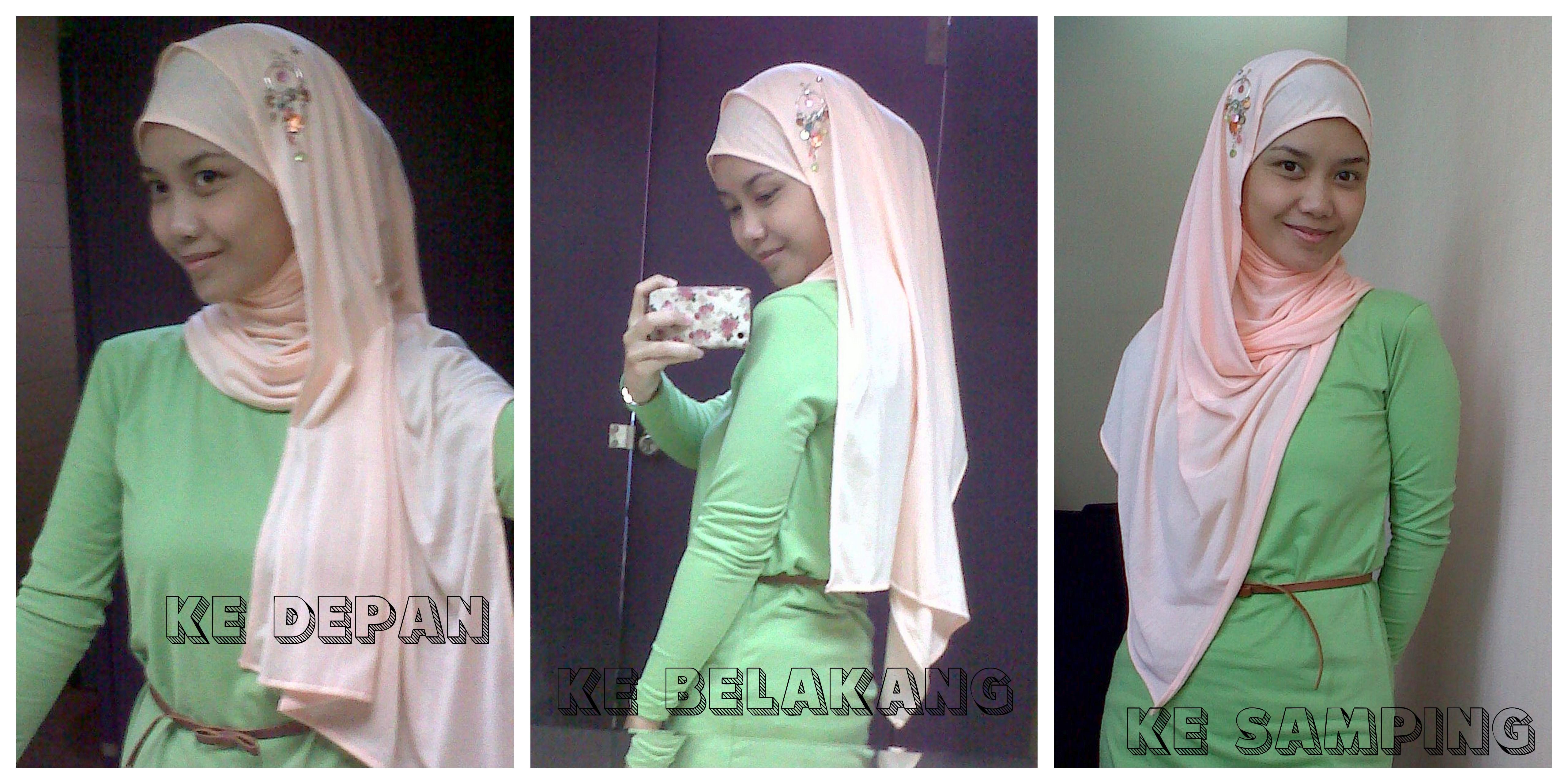 Hijabers Tutorial Sakinah Hijab Shawl Tanpa Inner