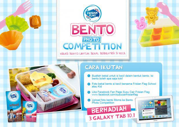 frisian flag bento competition