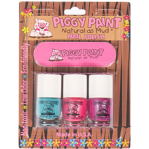 piggy paint forever fancy, girls rule, seaquin