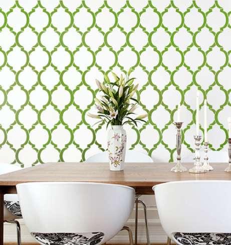 Wallpaper-stencil-pattern-moroccan