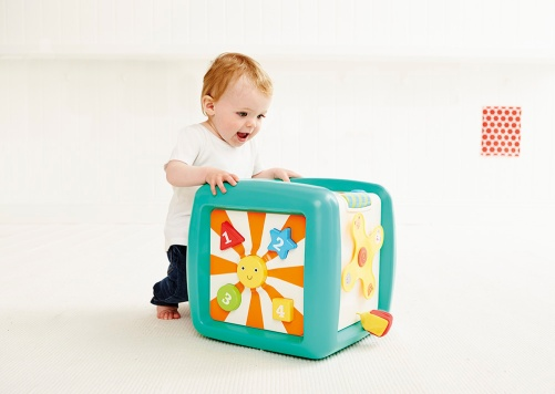 giant activity cube  photo