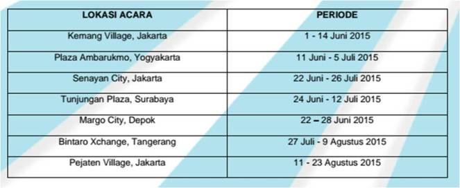 jadwal Barbie's Day out